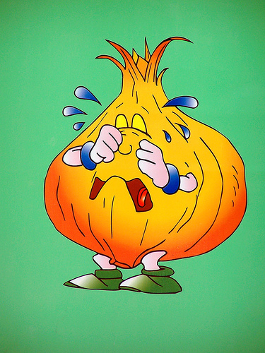 onions cartoon