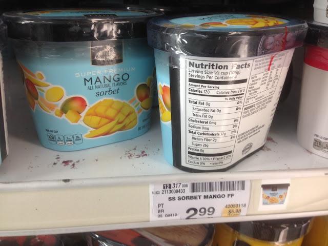 Mango Sorbet, Safeway Select - Safeway
