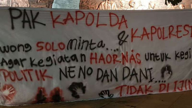 GP Ansor Desak Polisi Tak Izinkan Dhani dan Neno Warisman di Solo