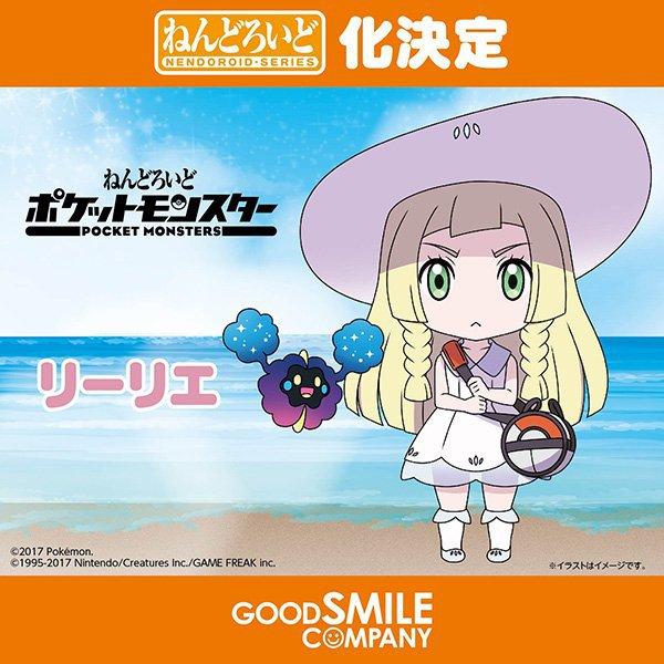 """Lillie de """"Pokemon"""""""