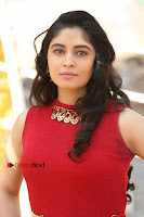 Telugu Actress Zahida Sam Latest Pos in Red Gown at RF Films New Movie Opening  0008.JPG