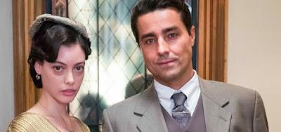 Natália (Marcela Jacobina) impedirá Almeida (Ricardo Pereira) de trocá-la pelo seu antigo amor na novela das seis