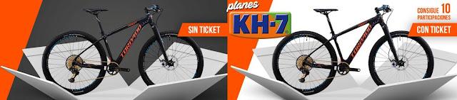 Llévate una bicicleta Torpado Ribot S con Kh-7