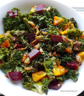 kale salatası