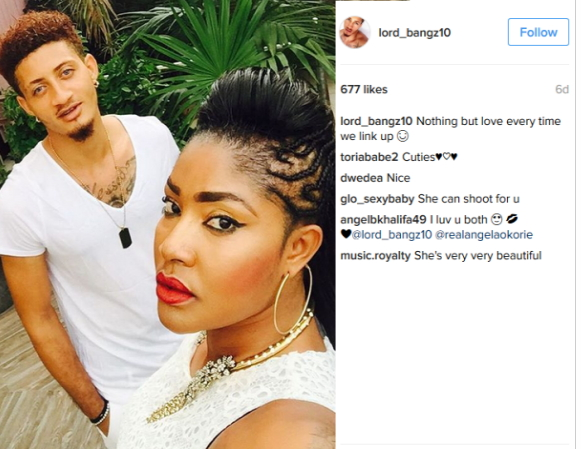 Photos: Angela Okories Secret Boyfriend Exposed, Actress