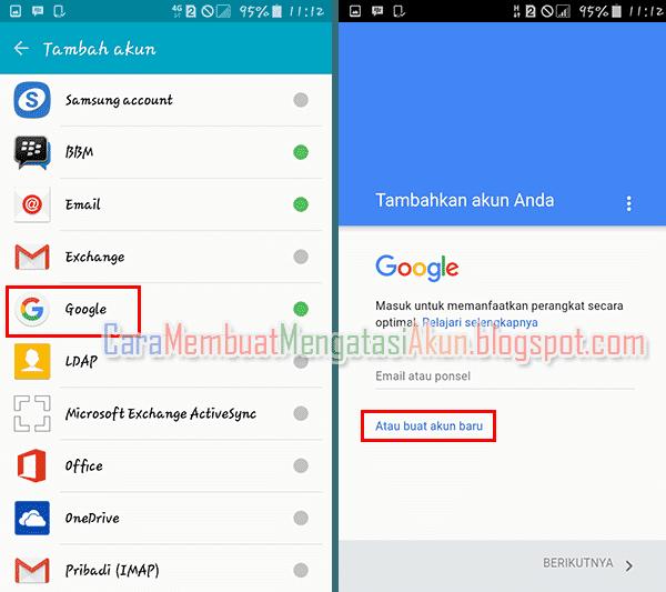 Contoh Cara Membuat Akun Google Lewat Hp Android Baru Atau Bekas