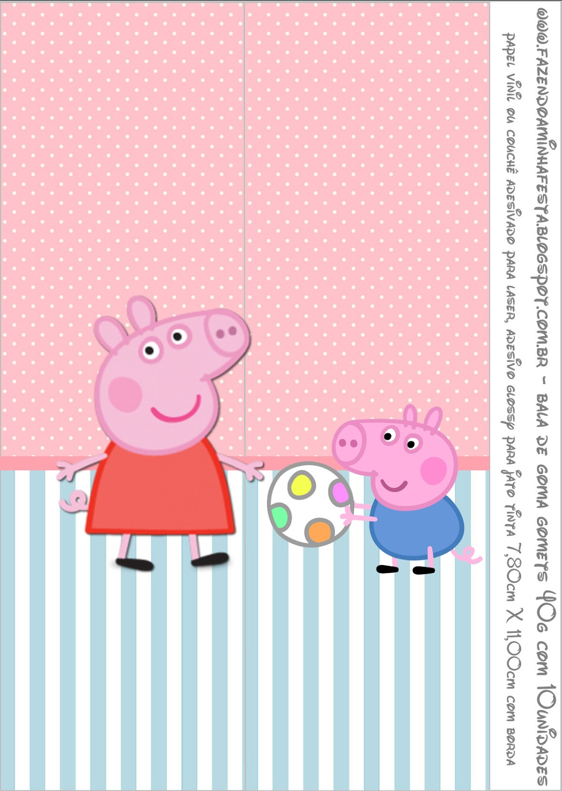 Peppa Pig Free Printable Labels And Toppers Oh My Fiesta In
