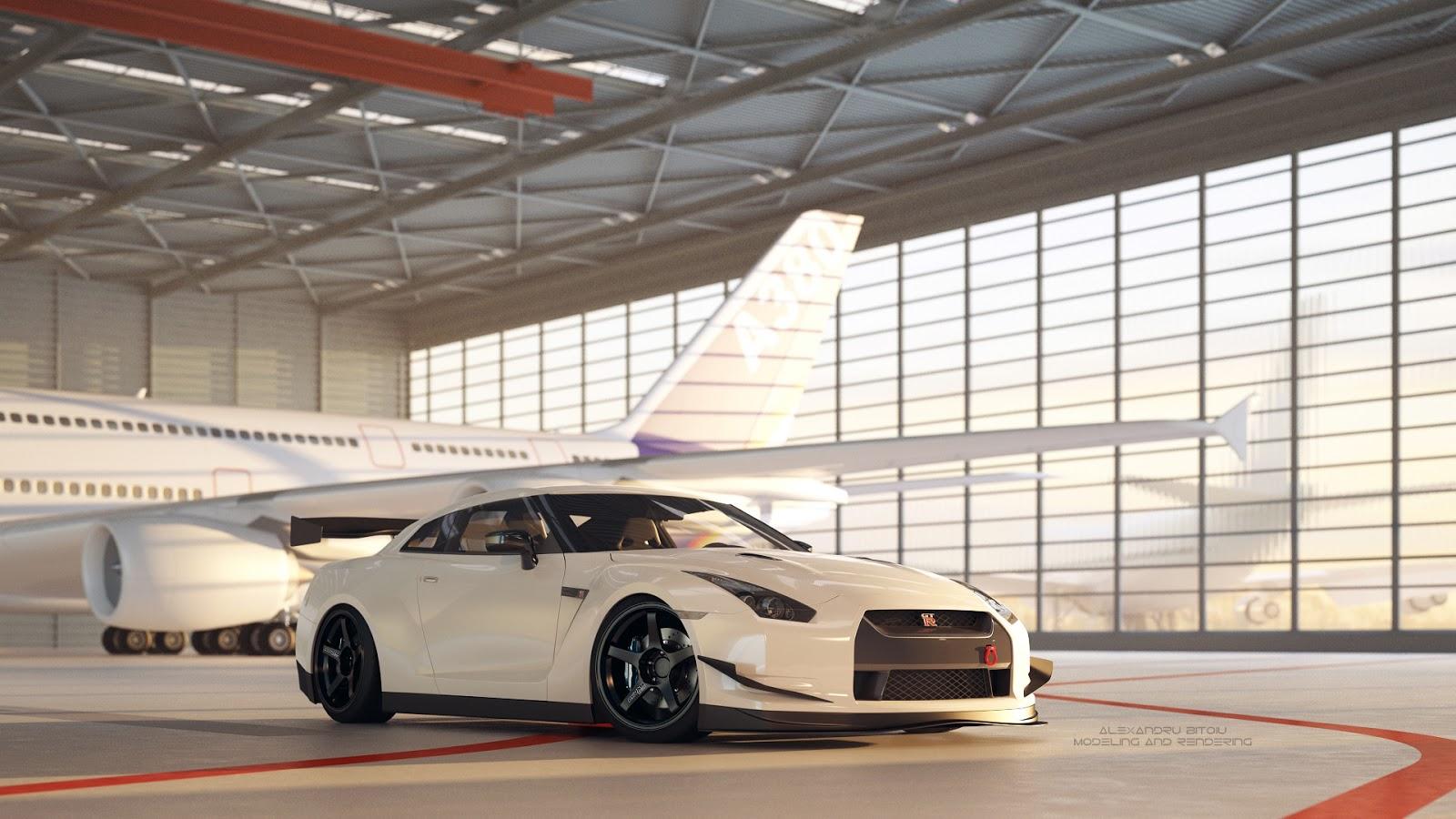 Nissan GT R On Advan GT CGi