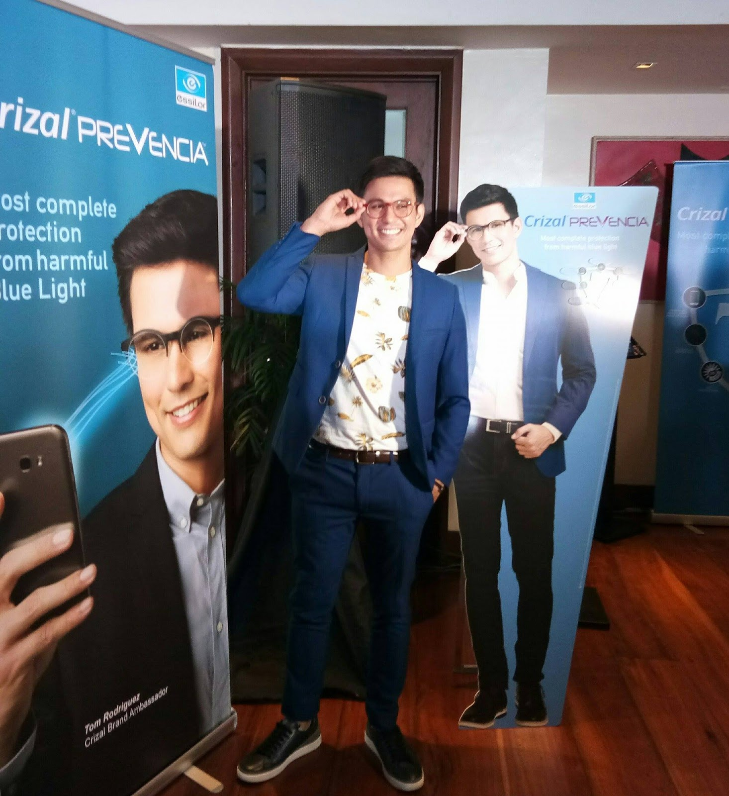 29f97f7c45 Essilor Philippines   Tom Rodriguez shares vision of perfect eye health  with Crizal® Prevencia™