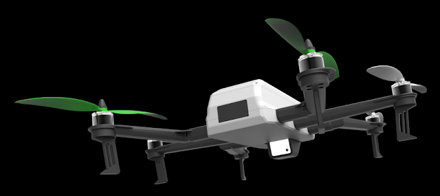 C-mi, Drone 'All-in-One' Rancangan Insinyur Roket