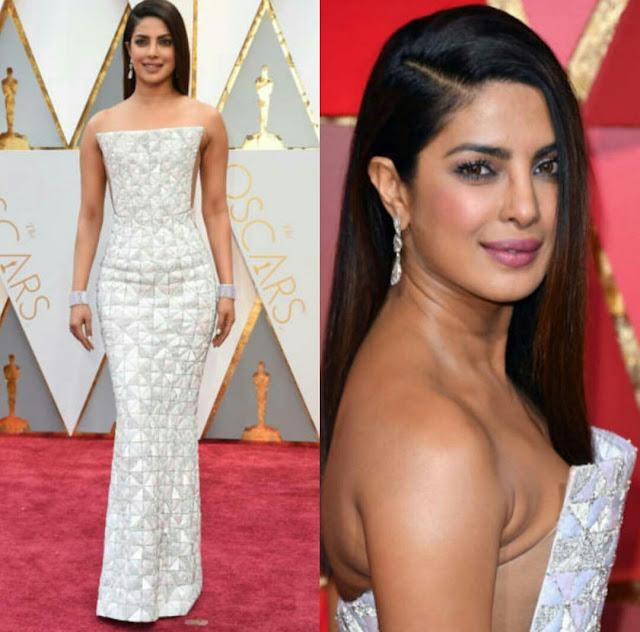 Priyanka Chopra In Ralph And Russo At Oscars 2017