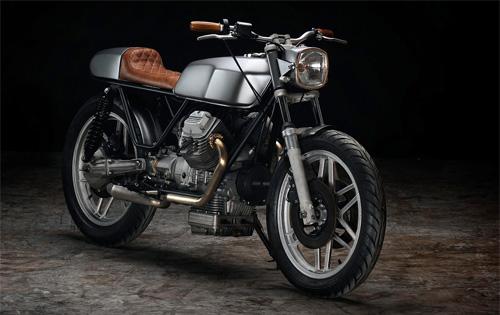Moto Guzzi V50 độ Cafe Racer