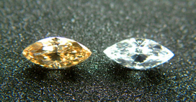Seeing Through Sparklers: What Happens to Heat-treated Diamonds