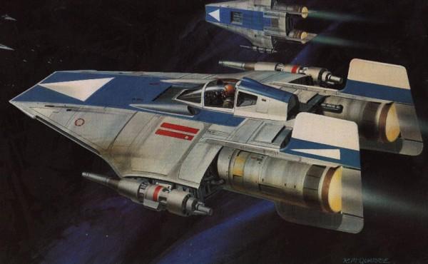 Star Wars A New Hope Concept Art X-Wing Cockpit Sudadera