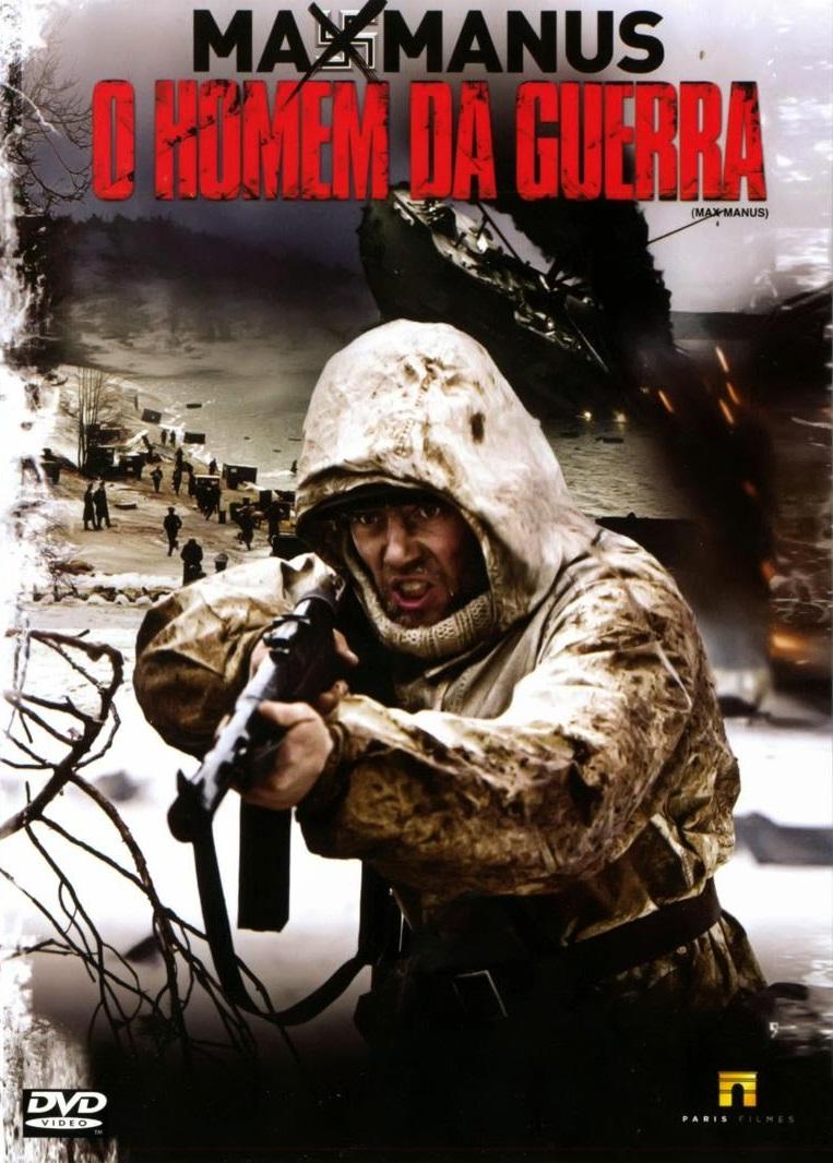 68e46cbbd5428 Lista Filmes Segunda Guerra  Max Manus - O Homem da Guerra (2008)