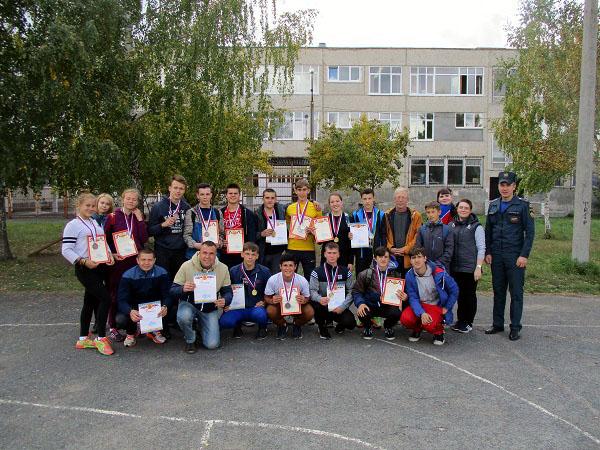 (ФОТО)Муниципальные соревнования по пожарно-прикладному спорту имени Бориса Федоровича Мокроусова