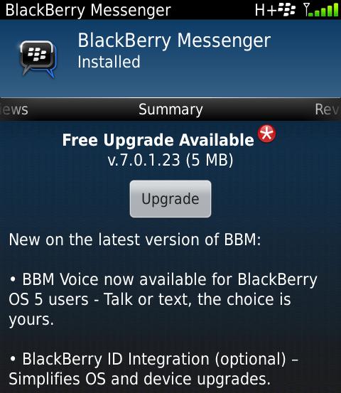 Bbm version 8 ota download phone