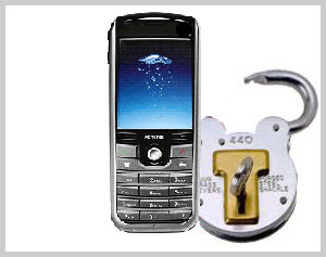 Mobile phone Security Codes Reader