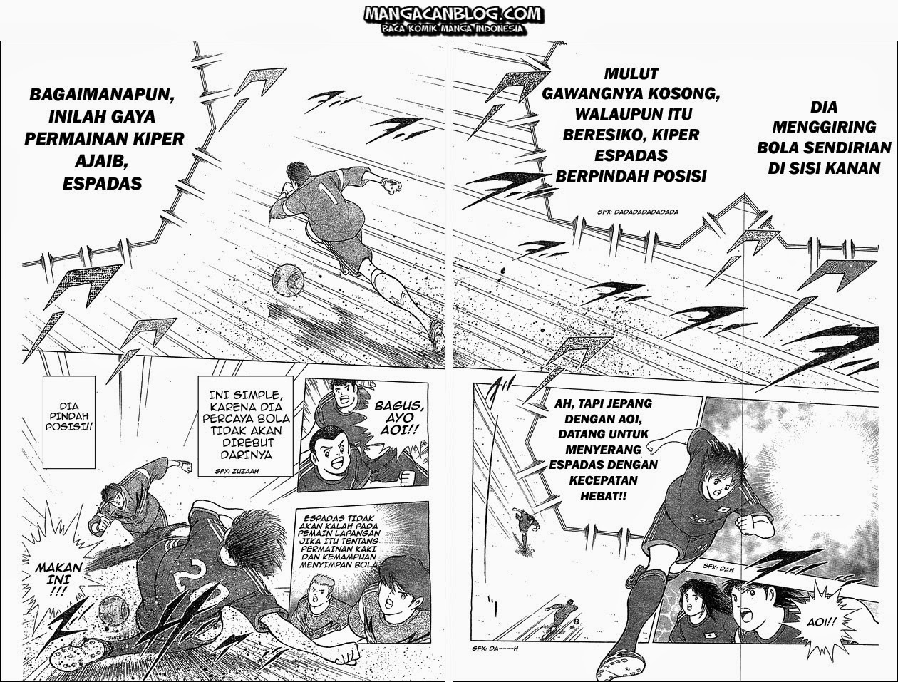Captain Tsubasa – Rising Sun Chapter 04-3