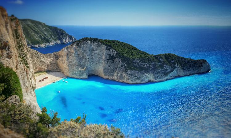 The no 1 sight of Zakynthos Island