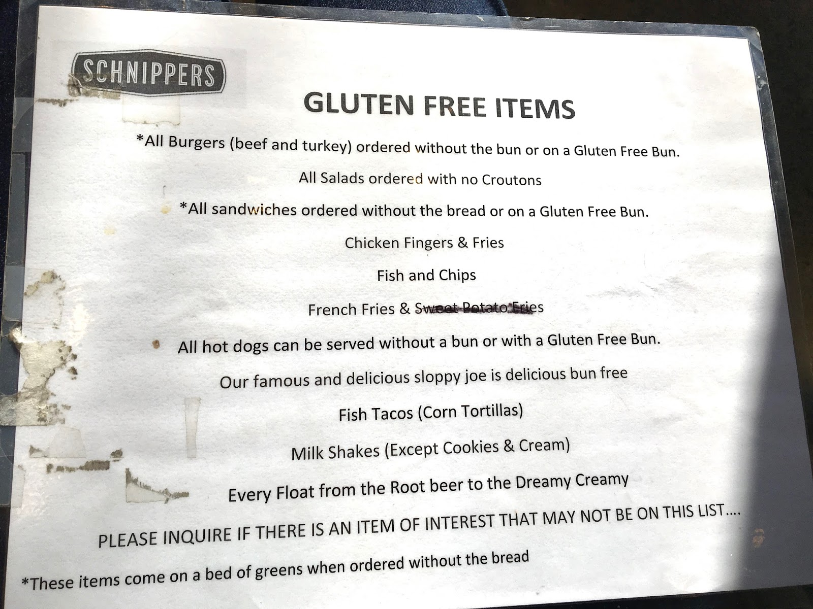 The Gluten & Dairy-Free Review Blog: Schnipper\'s Review
