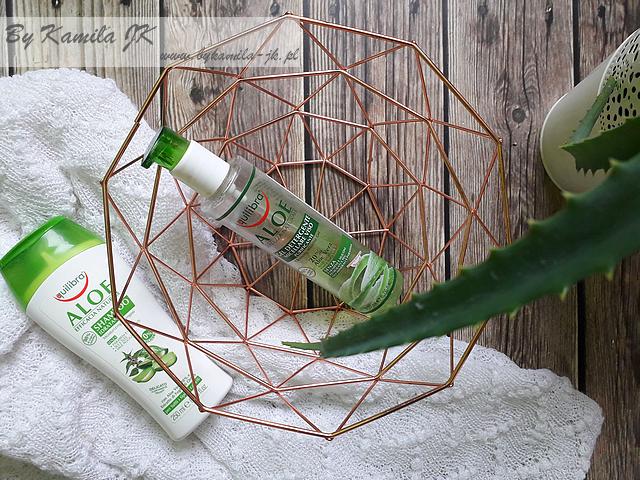 Equilibra aloesowy szampon iżel micelarny do oczyszczania twarzy