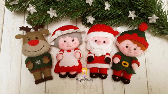 Apostila digital para natal papai Noel e sua família