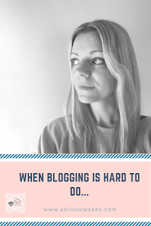 when blogging is hard to do PIN