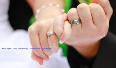 Mempelai wanita perlu melakukan persiapan saat menjelang pernikahan