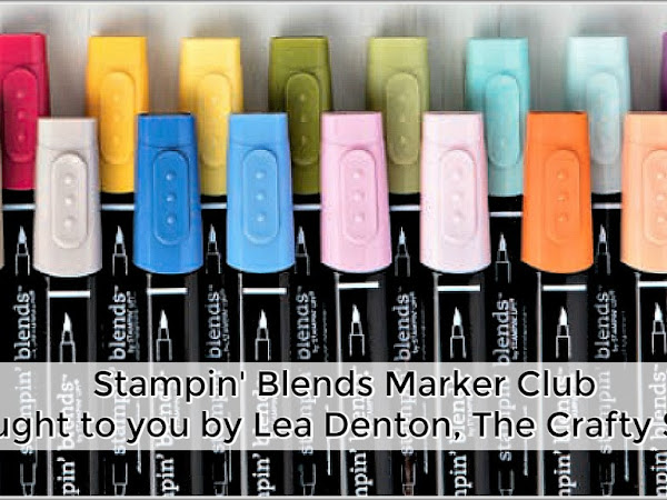 Welcome to my new Stampin' Blends Club