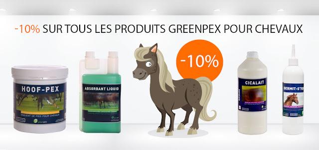 promotion produits greenpex chevaus