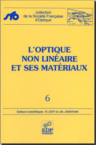 Livre : L'optique non linéaire et ses matériaux - PDF