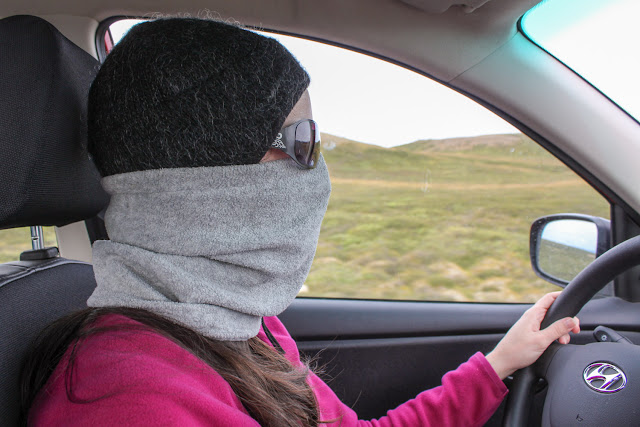 Camuflaje para resguardarnos de las moscas de Mývatn