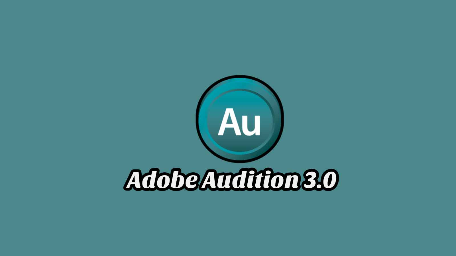 Daftar Isi Adobe Audition 3.0