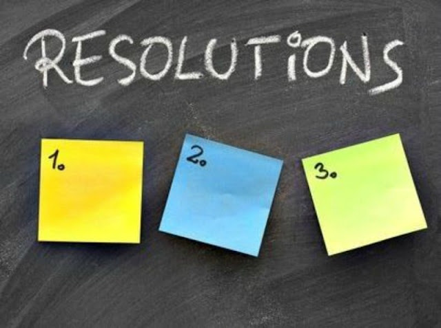New Year Resolutions, Happy New Year 2018 Resolutions
