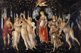 Botticelli's Primavera is thought to have been commissioned to celebrate Lorenzo di Pierfrancesco's marriage