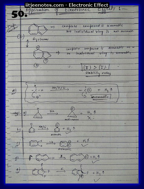 Electronic Effect chemistry5