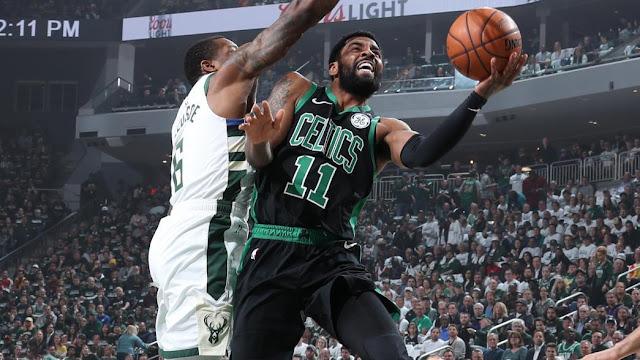 Celtics Shut Down The Paint Take Game 1 From The Bucks 112 90 Celticslife Boston