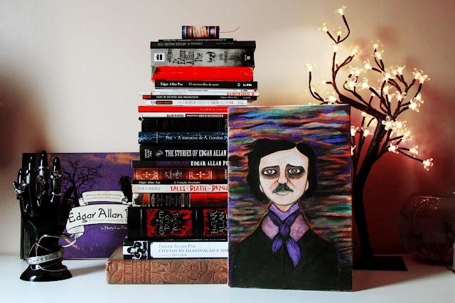 coleção de livros do edgar allan poe