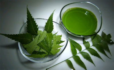 Neem juice for dandruff