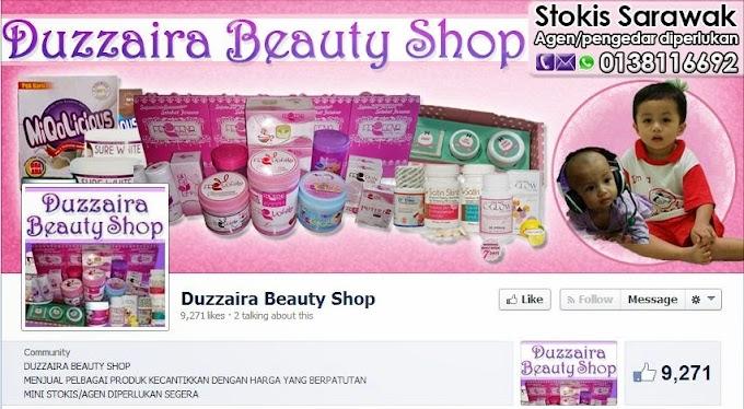 Tempahan Design Cover Photo Facebook: Duzzaira Beauty Shop