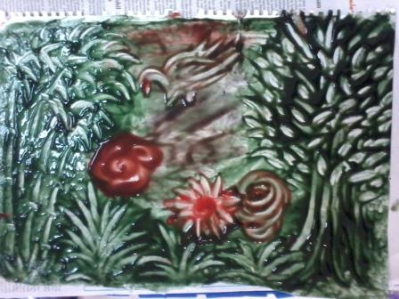 Lifestyle Pelatihan Finger Painting