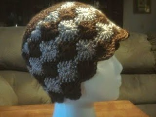 Cats-Rockin-Crochet, free crochet pattern, Catherine Wheel Hat Pattern