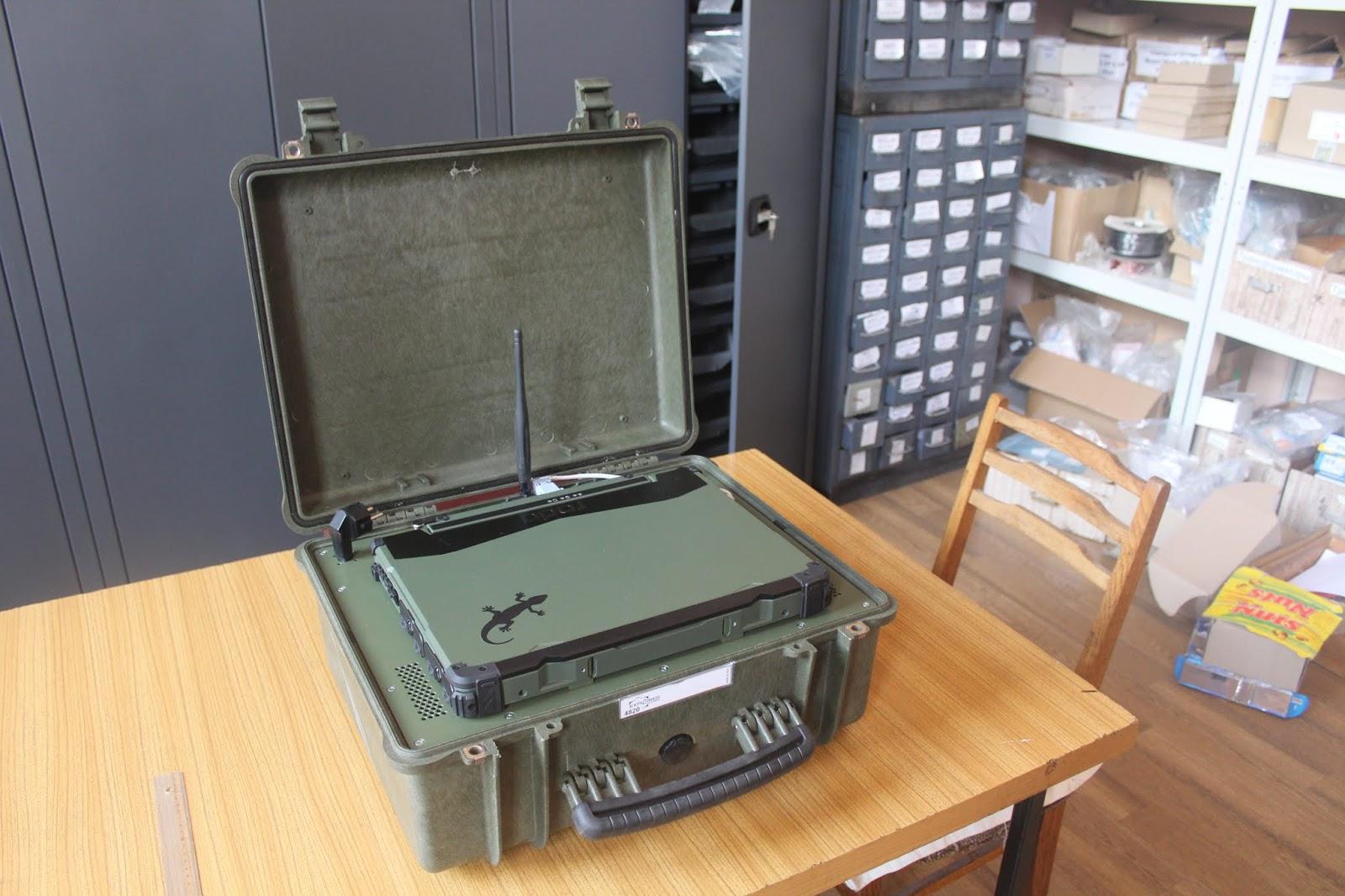 Укрспецтехніка розробила легкий контрбатарейний радар
