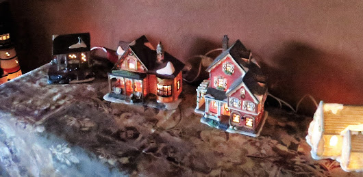 Lighted Christmas Houses