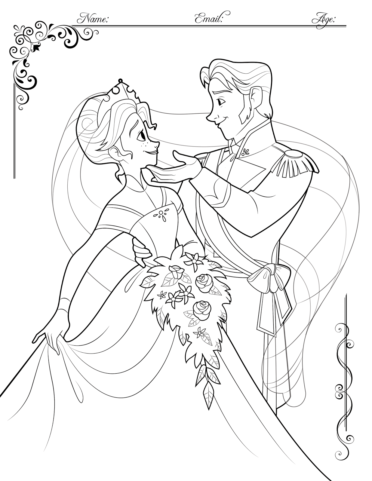 StoryMonster: FROZEN Coloring Contest!