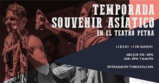 SOUVENIR ASIATICO en Teatro Petra