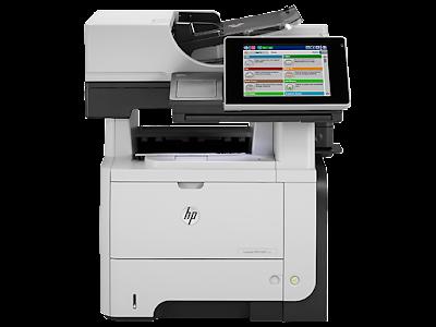 get driver HP LaserJet Enterprise flow MFP M525c
