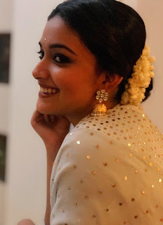 Keerthy Suresh in White Dress 1