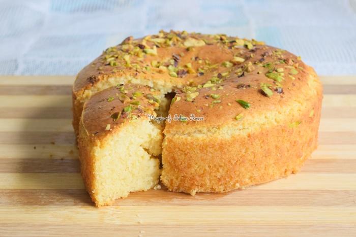 Bakery Style Mawa Cake - Eggless Tea Time Cake Recipe - बेकरी स्टाइल मावा केक - एगलेस चाय पे चर्चा केक रेसिपी - Priya R - Magic of Indian Rasoi